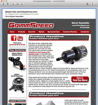 GrimmSpeed Newsletter