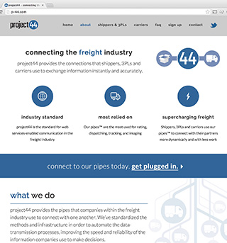 project44 Website