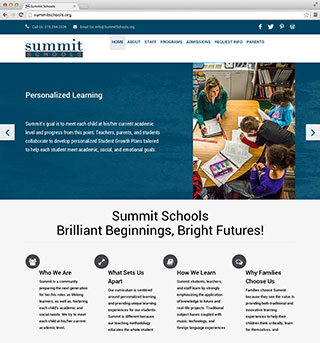Summit Schools Website